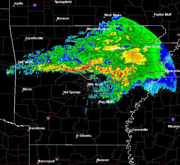 Radar Image for Severe Thunderstorms near Twin Groves, AR at 3/11/2020 9:13 AM CDT