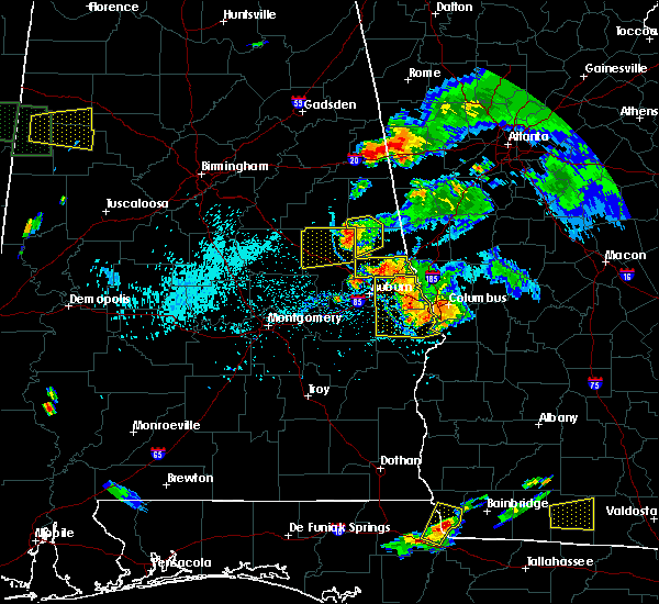 Radar Image for Severe Thunderstorms near Roanoke, AL at 6/24/2015 7:13 PM CDT