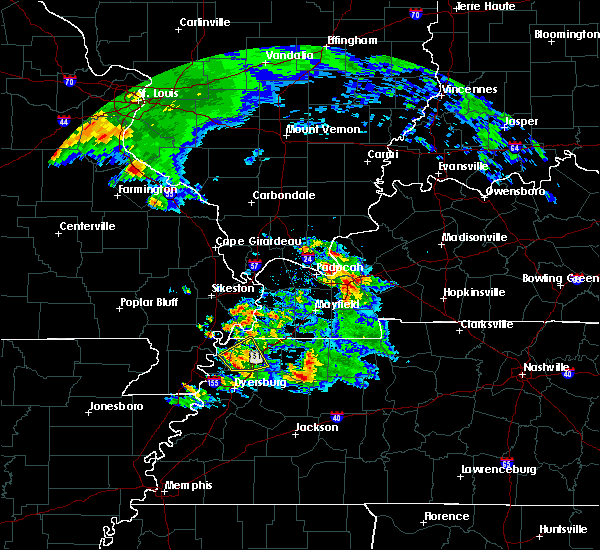 Radar Image for Severe Thunderstorms near Troy, TN at 3/12/2020 12:01 PM CDT