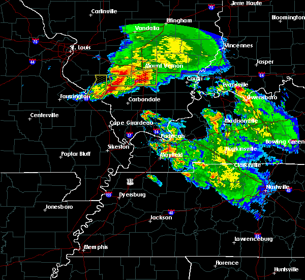 Radar Image for Severe Thunderstorms near Christopher, IL at 3/12/2020 1:42 PM CDT