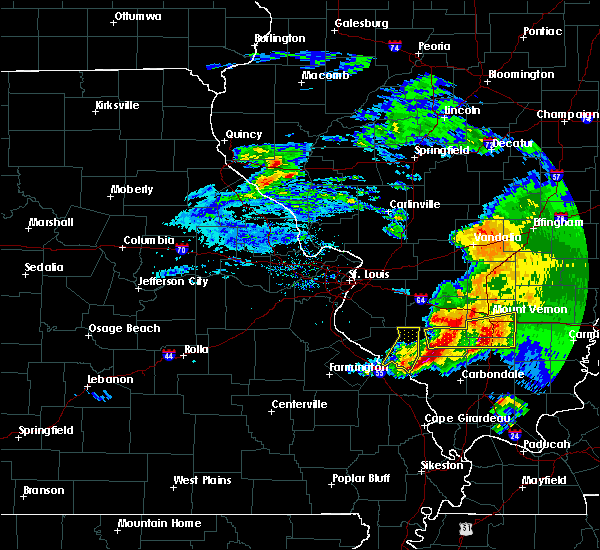 Radar Image for Severe Thunderstorms near Percy, IL at 3/12/2020 1:42 PM CDT