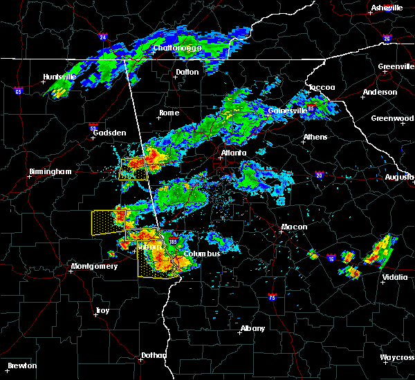 Radar Image for Severe Thunderstorms near Edwardsville, AL at 6/24/2015 7:17 PM CDT