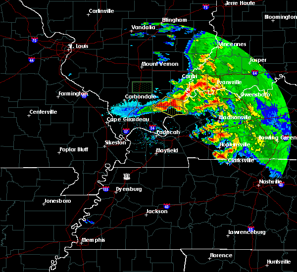 Radar Image for Severe Thunderstorms near Equality, IL at 3/12/2020 3:17 PM CDT