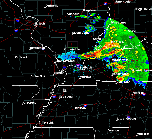 Radar Image for Severe Thunderstorms near Cave-In-Rock, IL at 3/12/2020 3:26 PM CDT