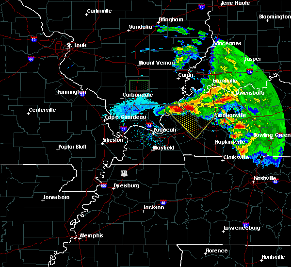 Radar Image for Severe Thunderstorms near Fredonia, KY at 3/12/2020 3:39 PM CDT