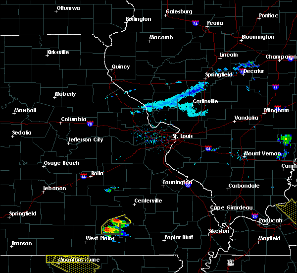 Radar Image for Severe Thunderstorms near Winona, MO at 3/12/2020 4:24 PM CDT