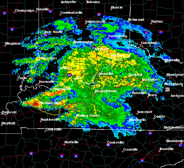 Radar Image for Severe Thunderstorms near Brownsville, KY at 3/12/2020 4:31 PM CDT