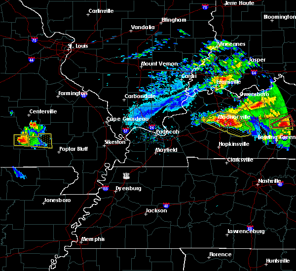 Radar Image for Severe Thunderstorms near Williamsville, MO at 3/12/2020 4:42 PM CDT