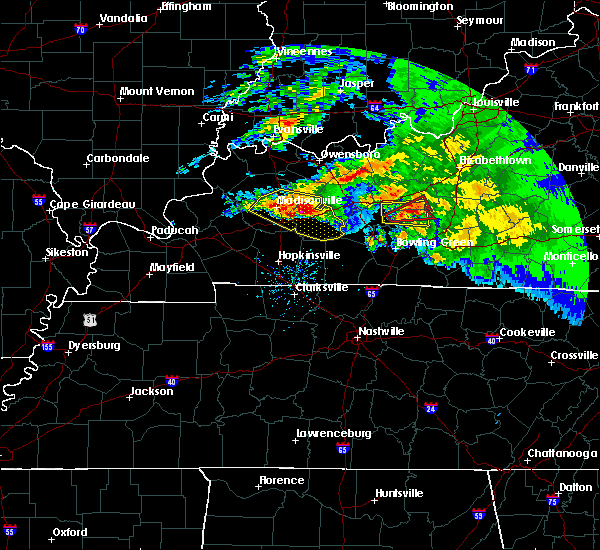 Radar Image for Severe Thunderstorms near Greenville, KY at 3/12/2020 4:49 PM CDT