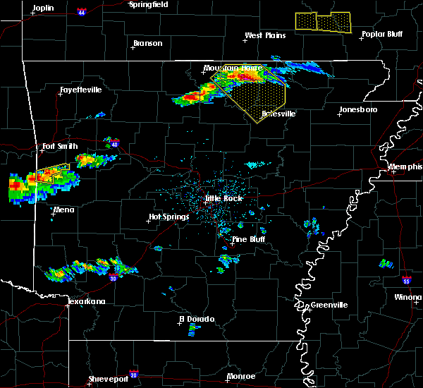 Radar Image for Severe Thunderstorms near Cave City, AR at 3/12/2020 4:54 PM CDT