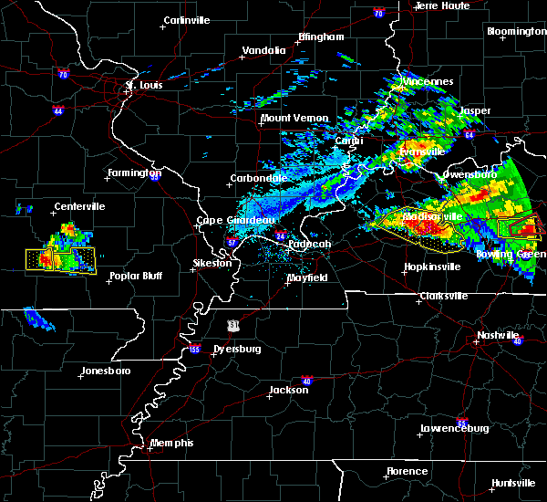 Radar Image for Severe Thunderstorms near Hunter, MO at 3/12/2020 4:54 PM CDT