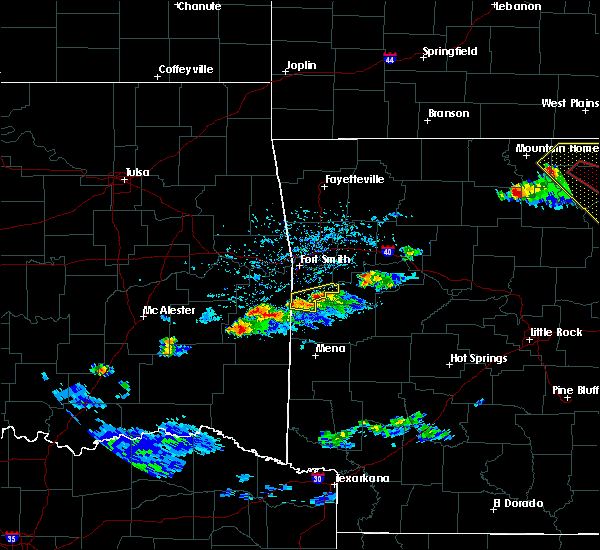 Radar Image for Severe Thunderstorms near Midland, AR at 3/12/2020 5:00 PM CDT
