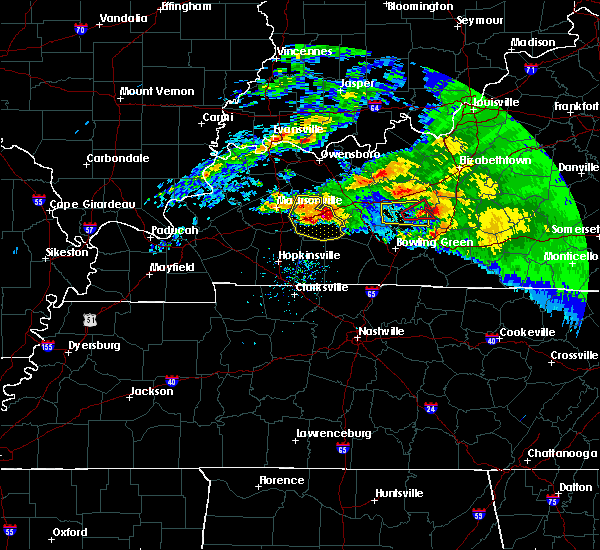 Radar Image for Severe Thunderstorms near Greenville, KY at 3/12/2020 5:00 PM CDT