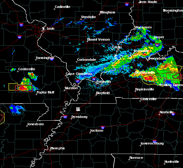 Radar Image for Severe Thunderstorms near Hunter, MO at 3/12/2020 5:02 PM CDT