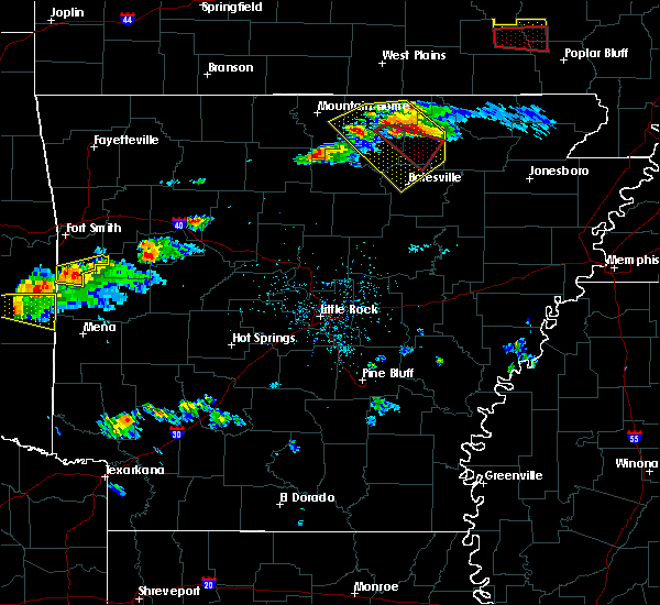 Radar Image for Severe Thunderstorms near Guion, AR at 3/12/2020 5:10 PM CDT