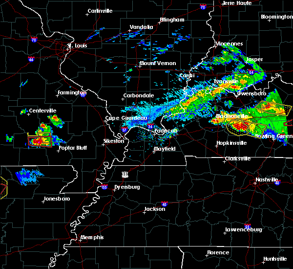 Radar Image for Severe Thunderstorms near Hunter, MO at 3/12/2020 5:11 PM CDT