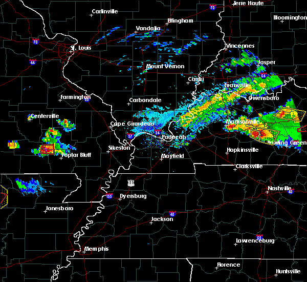 Radar Image for Severe Thunderstorms near Williamsville, MO at 3/12/2020 5:18 PM CDT