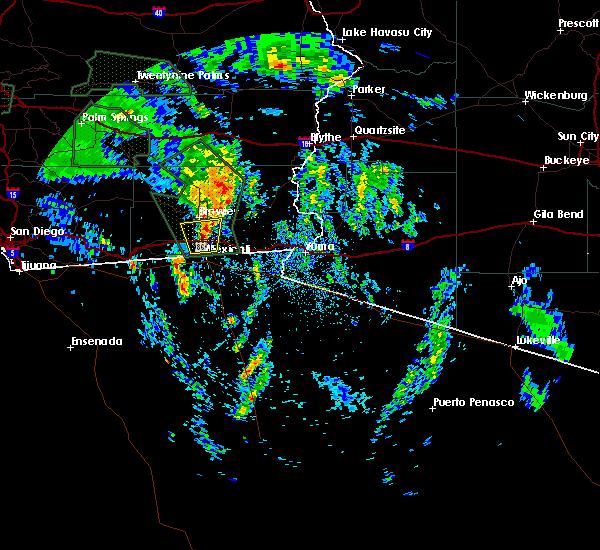 Radar Image for Severe Thunderstorms near Holtville, CA at 3/12/2020 3:22 PM PDT