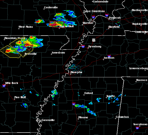 Radar Image for Severe Thunderstorms near Hoxie, AR at 3/12/2020 5:30 PM CDT