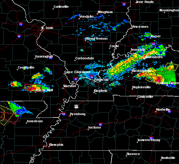 Radar Image for Severe Thunderstorms near Hunter, MO at 3/12/2020 5:32 PM CDT