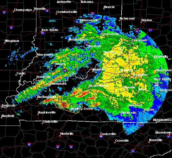Radar Image for Severe Thunderstorms near Upton, KY at 3/12/2020 5:34 PM CDT