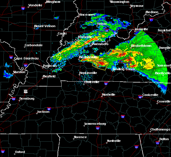 Radar Image for Severe Thunderstorms near Greenville, KY at 3/12/2020 5:34 PM CDT