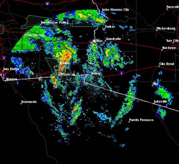 Radar Image for Severe Thunderstorms near Holtville, CA at 3/12/2020 3:41 PM PDT