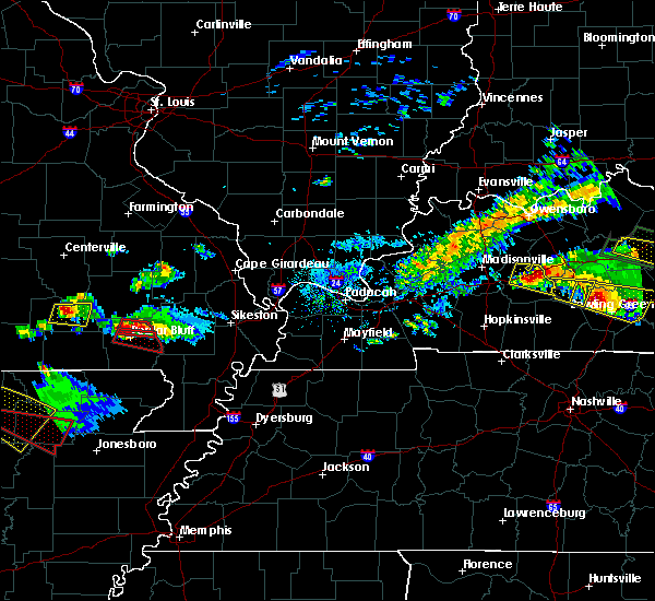 Radar Image for Severe Thunderstorms near Hunter, MO at 3/12/2020 5:41 PM CDT