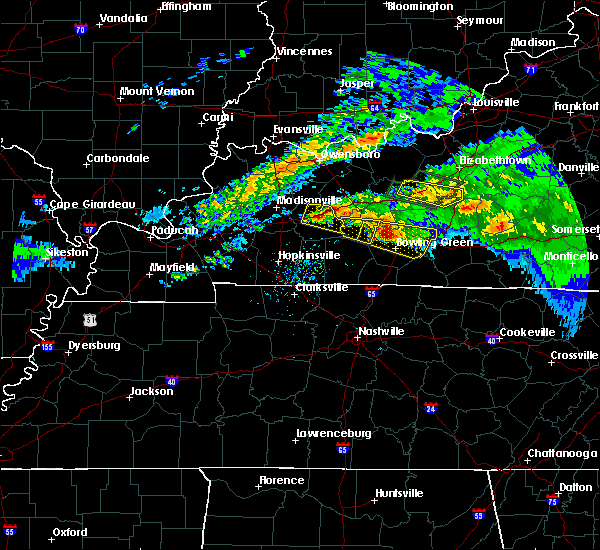 Radar Image for Severe Thunderstorms near Greenville, KY at 3/12/2020 5:43 PM CDT
