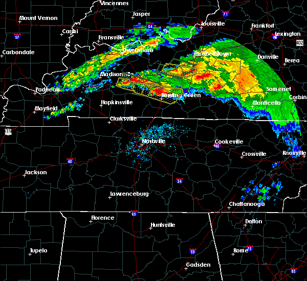 Radar Image for Severe Thunderstorms near Bowling Green, KY at 3/12/2020 5:46 PM CDT