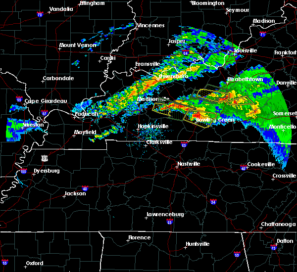Radar Image for Severe Thunderstorms near Greenville, KY at 3/12/2020 5:54 PM CDT