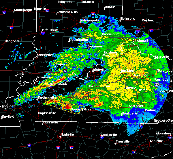 Radar Image for Severe Thunderstorms near Upton, KY at 3/12/2020 6:56 PM EDT