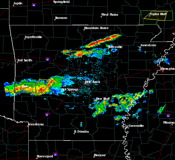 Radar Image for Severe Thunderstorms near Black Springs, AR at 3/12/2020 7:18 PM CDT