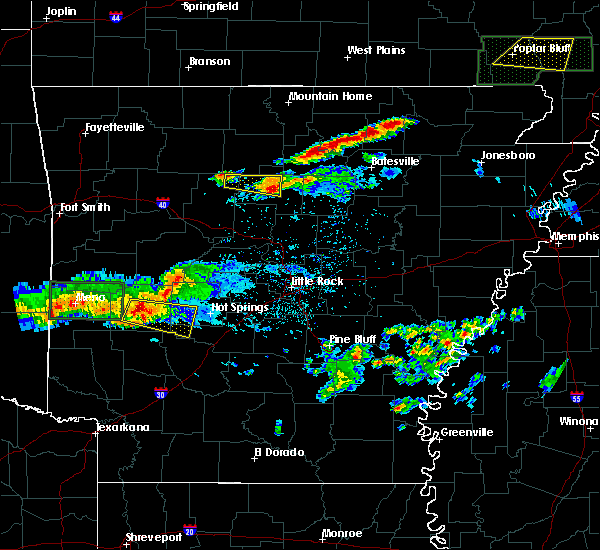 Radar Image for Severe Thunderstorms near Melbourne, AR at 3/12/2020 7:21 PM CDT