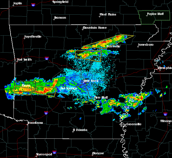Radar Image for Severe Thunderstorms near Clinton, AR at 3/12/2020 7:40 PM CDT