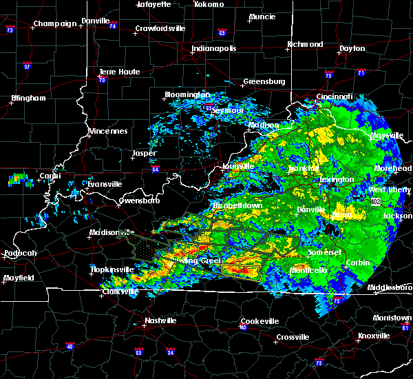 Radar Image for Severe Thunderstorms near Horse Cave, KY at 3/12/2020 7:51 PM CDT