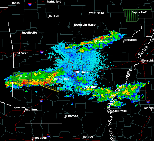 Radar Image for Severe Thunderstorms near Friendship, AR at 3/12/2020 7:56 PM CDT