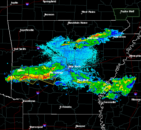 Radar Image for Severe Thunderstorms near Friendship, AR at 3/12/2020 8:15 PM CDT