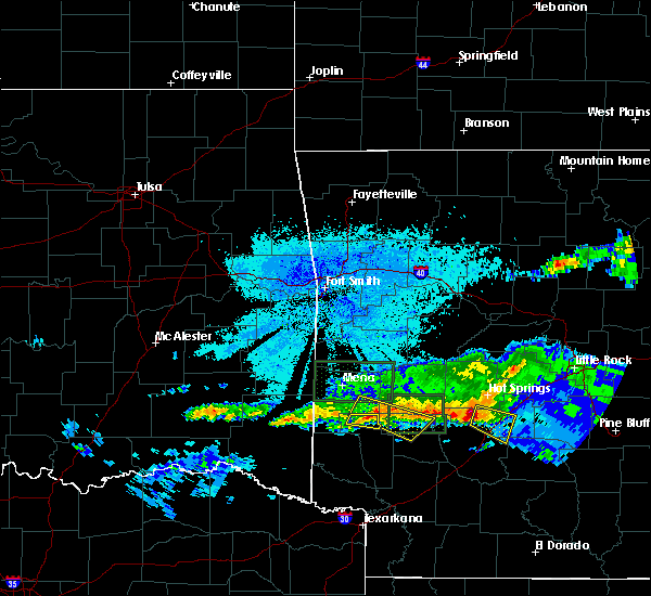 Radar Image for Severe Thunderstorms near Kirby, AR at 3/12/2020 8:26 PM CDT
