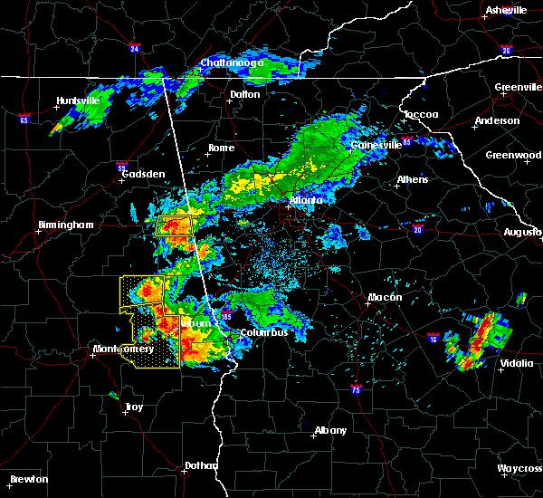 Radar Image for Severe Thunderstorms near Hollis Crossroads, AL at 6/24/2015 7:39 PM CDT