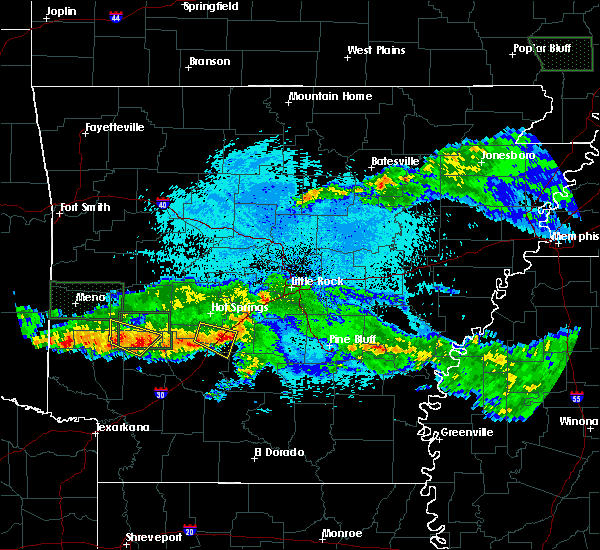 Radar Image for Severe Thunderstorms near Friendship, AR at 3/12/2020 8:46 PM CDT