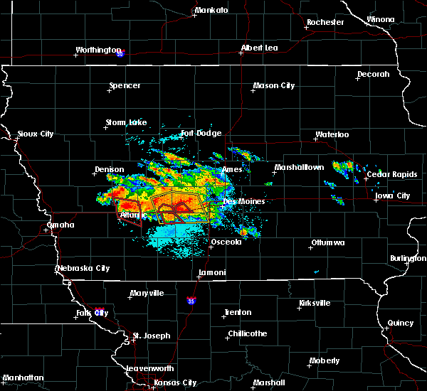 Radar Image for Severe Thunderstorms near Menlo, IA at 6/24/2015 7:39 PM CDT