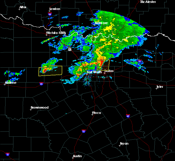 Radar Image for Severe Thunderstorms near Irving, TX at 3/13/2020 10:56 AM CDT