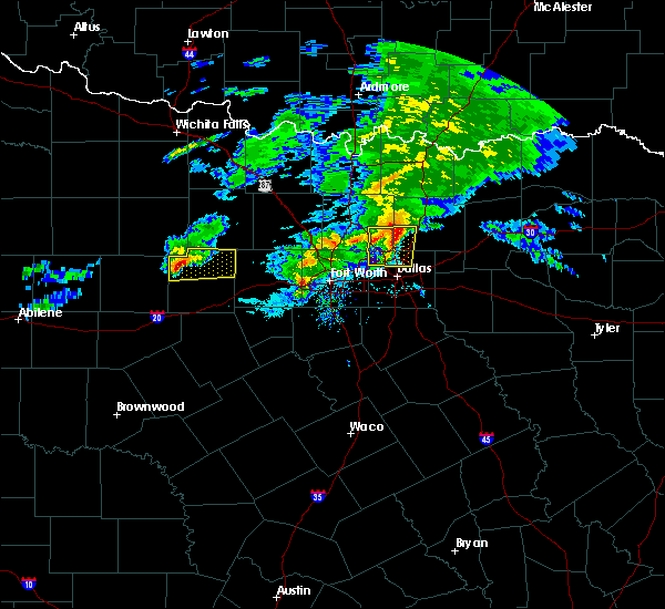 Radar Image for Severe Thunderstorms near Frisco, TX at 3/13/2020 11:04 AM CDT