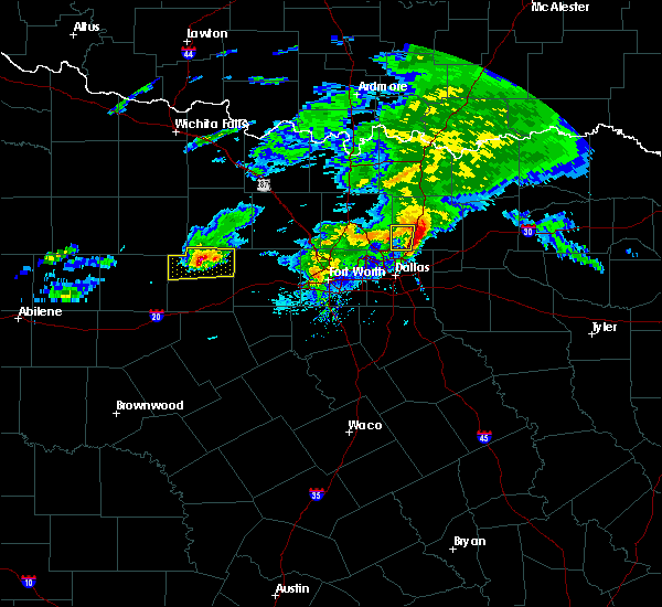 Radar Image for Severe Thunderstorms near Mineral Wells, TX at 3/13/2020 11:17 AM CDT