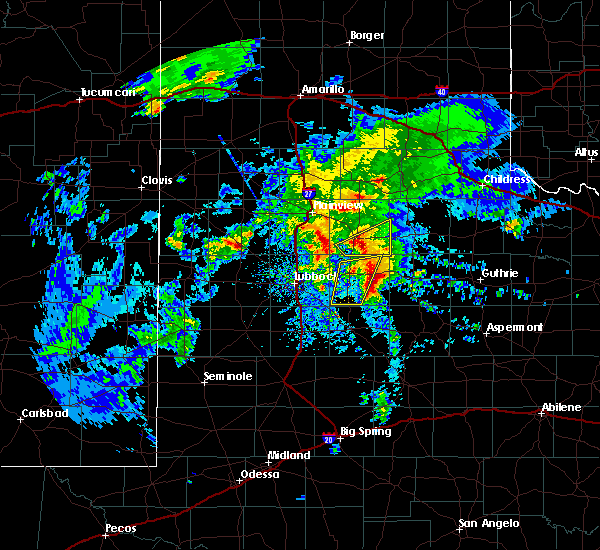 Radar Image for Severe Thunderstorms near Spur, TX at 3/17/2020 11:10 AM CDT