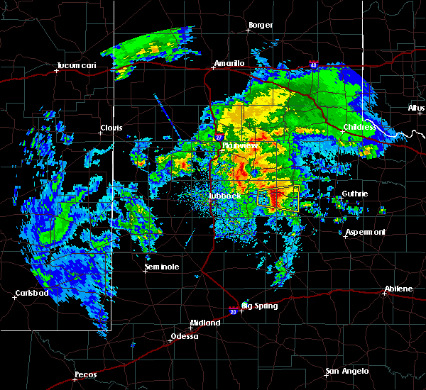 Radar Image for Severe Thunderstorms near Dickens, TX at 3/17/2020 11:32 AM CDT