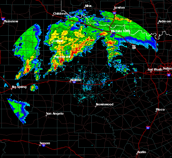 Radar Image for Severe Thunderstorms near Rochester, TX at 3/17/2020 6:01 PM CDT