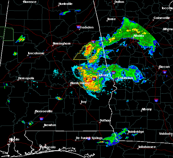 Radar Image for Severe Thunderstorms near Coosada, AL at 6/24/2015 8:23 PM CDT