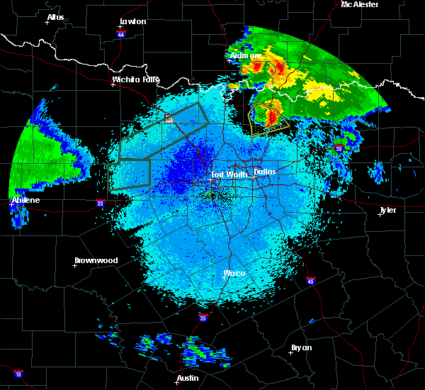 Radar Image for Severe Thunderstorms near Van Alstyne, TX at 3/19/2020 12:53 AM CDT